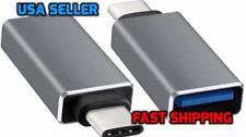 USB-C Type C 3.1 Male to USB 3.0 Type A Female Adapter Sync Data Hub OTG Gray