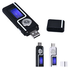 Tragbar USB MP3 Music Player Digital LCD Screen Support 16GB TF Card FM Radio