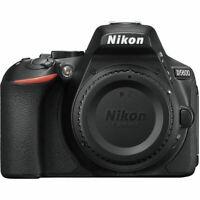 *USA Seller* Nikon D5600 24.2MP Digital SLR Camera - Black (Body Only)