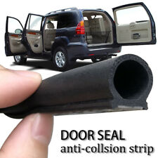 16ft Car Door Seal Strip EPDM Rubber Noise Insulation Soundproof Seal Adhensive