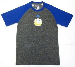 Golden State Warriors NBA Adidas Ultimate Tee T-Shirt Climalite Dri-Fit Men's