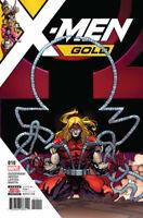 X-MEN GOLD #10 CVR A 2017 MARVEL COMICS NM