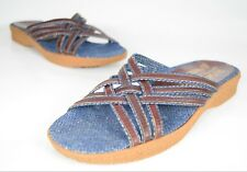 Famolare Rush Strappy Sandals Women's Size 7.5 (N) Narrow Rare Vintage 1970s