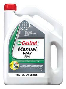 Castrol VMX Manual Transmission Fluid 80W 4L 3377724