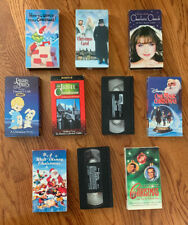 VHS Holiday / Christmas Lot (Walt Disney, Family) 10 Video Cassettes