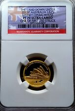 2013, Perth Mint: Solid Gold $25, Land Down Under, PF70UC: 1000 Minted - 7.77g