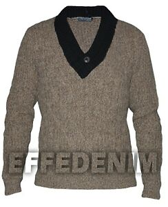 Maglione Uomo Adamus & Karl Momoo Pullover Maglia Lana Pull Toppe Made in Italy
