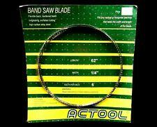 """New listing New sealed Actool 62"""" Band Saw Blade for vertical horizontal machine 1/4"""" width"""