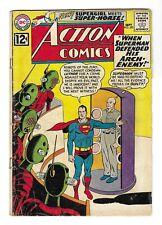 ACTION COMICS no.292 SILVER AGE DC COMIC BOOK Superman Supergirl 1st Super-Horse