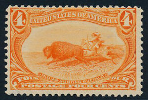 U. S. Scott #287 Average Centering (Mint Never Hinged)  SCV: $300.00
