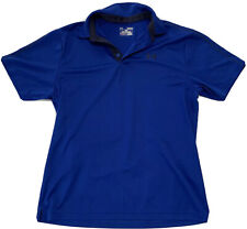 Under Armour HeatGear Men's Polo Shirt Loose Fit Blue Size Medium