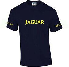 Jaguar T-shirt ..Car Enthusiast top..with arm logos novelty gift  present