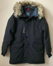 $498 Polo Ralph Lauren Faux Fur-Trim Down Parka Coat