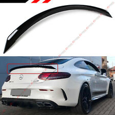 FOR 2017-18 MERCEDES BENZ W205 2DR COUPE C63S EDITION 1 STYLE TRUNK SPOILER WING