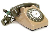 Ancien Téléphone fixe vintage à cadran Socotel 1986 (Réf#E-272)