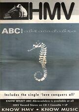 17/8/91 Pgn19 Advert: Abc The New Album abracadabra In Hmv Stores Now 15x11