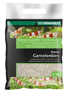 Dennerle Nano Garnelenkies Sunda Weiß  Aquarienkies schadstofffrei 2 kg