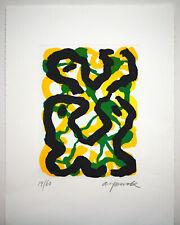 """A.R.Penck """"Jungfrau""""  handsigniert und nummeriert seltene Aquatintaradierung"""