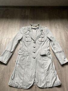 Airfield Mantel Jeans Grau 40