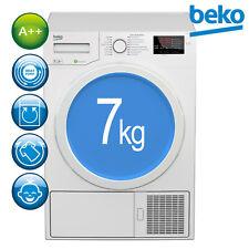 Beko Trockner A++ Wärmepumpentrockner Wäschetrockner DPS 7405 W3 7kg