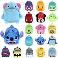 Toddler Baby Kids Mini Animal Backpack Kindergarten Schoolbag Plush Shoulder Bag