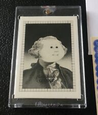 1985 Topps Vault Garbage Pail Kids Mini #73a Film Positive Proof Gorgeous George