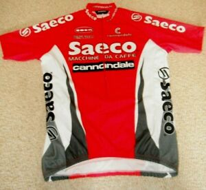Saeco Cannondale Italian cycling jersey [XL]
