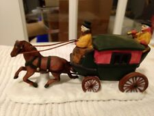Dept 56 Heritage Village Horse with Coach #65900 Retired