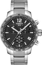 NEW TISSOT QUICKSTER CHRONO GREY DIAL T095.417.11.067.00 T0954171106700