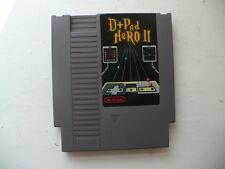 NTSC NES D Pad Hero 2 music game like Guitar Hero Homebrew cart
