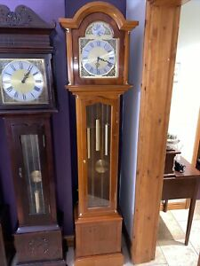 Grandfather Clock Weight Driven With Westminster chimes And Night Silence