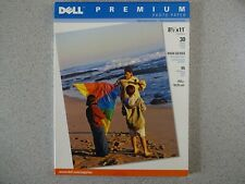 2 NISP 30 Sheet Packs of Dell Premium Photo Paper High Gloss 8.5 x 11""