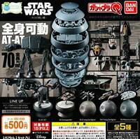 Battle of BANDAI Star Wars host Gashapon 5set mascot capsule toys Complete set