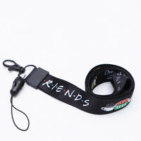 Friends TV Show Lanyard Neck Strap ID Badge Phone Holders Keychain Cosplay