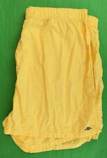 """""""Polo Rugby Yellow Gingham Check Boxer Shorts"""" Sz: 38""""W"""