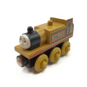 Thomas & Friends STEPNEY Wooden Railway Train Track Engine 2003