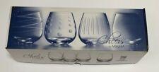 Set Of 4 Mikasa Cheers Barware Stemless Wine Glasses 14 Oz