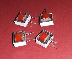 4x Org. Audio Transformer 600:600 1:1 Quality Nf Coil Trafo ETC