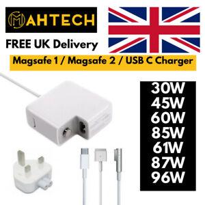 30W 45W 60W 85W 61W 87W 96W AC Adapter MagSafe1 2 Power Charger Macbook Pro Air