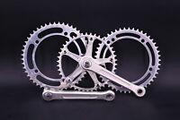 Campagnolo Strada Crankset 170mm ISO Square Taper Double with Extra Chainrings