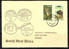 South West Africa Cover Usakos 1985  Philatelic Cover