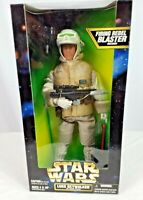 Star Wars Luke Skywalker in Hoth Gear 12-Inch Action Figure (Kenner) Blaster NIB