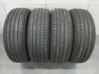4x Sommerreifen Pirelli Scorpion Verde 215/65 R17 99V / 8,2-8,5 mm / DOT 3517