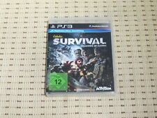 CABELA'S SURVIVAL SHADOWS OF KATMAI per PlayStation 3 ps3 PS 3 * OVP *