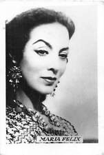 B55702 Maria felix Acteurs Actors 9x7cm