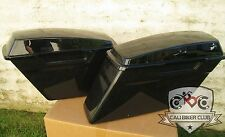 Unpainted ABS Saddlebags for Harley-Davidson Left Right Hard Saddle Bags Touring
