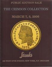 STACK'S The Crimson collection 07/03/2006 Monete U.S.A.
