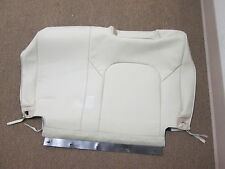 Infiniti QX56 3rd Row Backrest Seat Cover Leather Tan  Used OEM 2011 2012 2013
