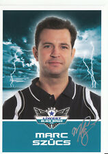 Marc Szücs Black Wings Linz 2011-12 TOP AK Orig. Sign. Eishockey +A38207