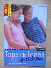 Handarbeitsheft, Strickheft Tops für Teens / Annika Beck